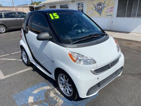 2015 Smart fortwo electric drive for sale at Robert Judd Auto Sales in Washington UT