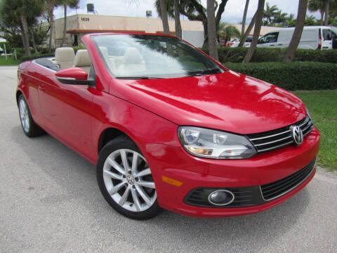 2013 Volkswagen Eos for sale at FLORIDACARSTOGO in West Palm Beach FL