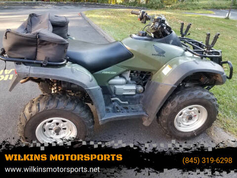 2005 Honda Rincon 650 for sale at WILKINS MOTORSPORTS in Brewster NY