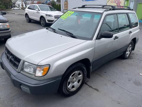 2000 Subaru Forester for sale at American Dream Motors in Everett WA