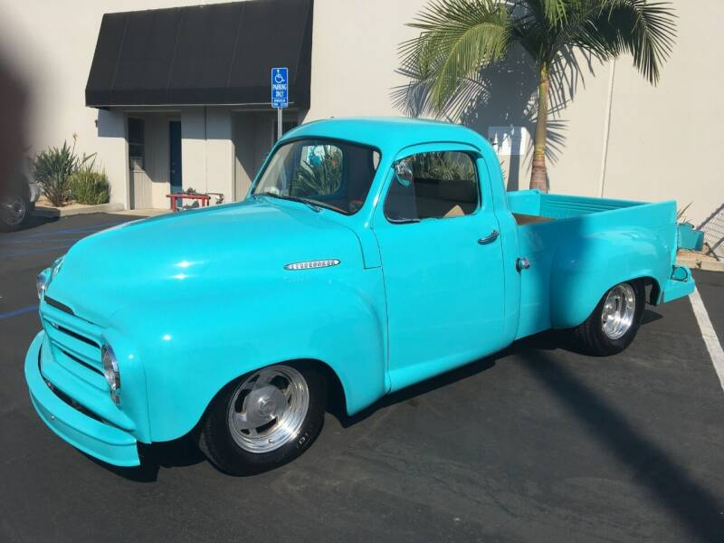 1955 Studebaker Pick Up for sale at MANGIONE MOTORS ORANGE COUNTY in Costa Mesa CA
