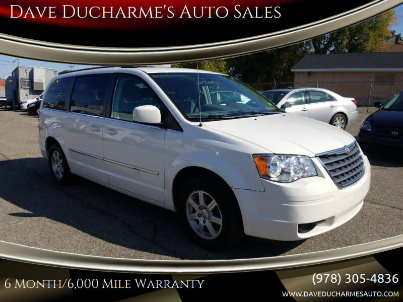 2010 Chrysler Town and Country for sale at Dave Ducharme's Auto Sales in Lowell MA
