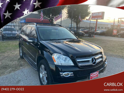 2007 Mercedes-Benz GL-Class for sale at CARBLOK in Lewisville TX