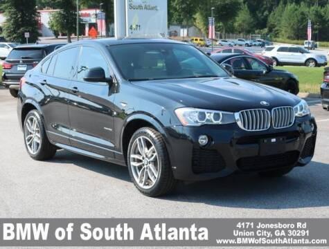 2018 BMW X4 for sale at Carol Benner @ BMW of South Atlanta in Union City GA