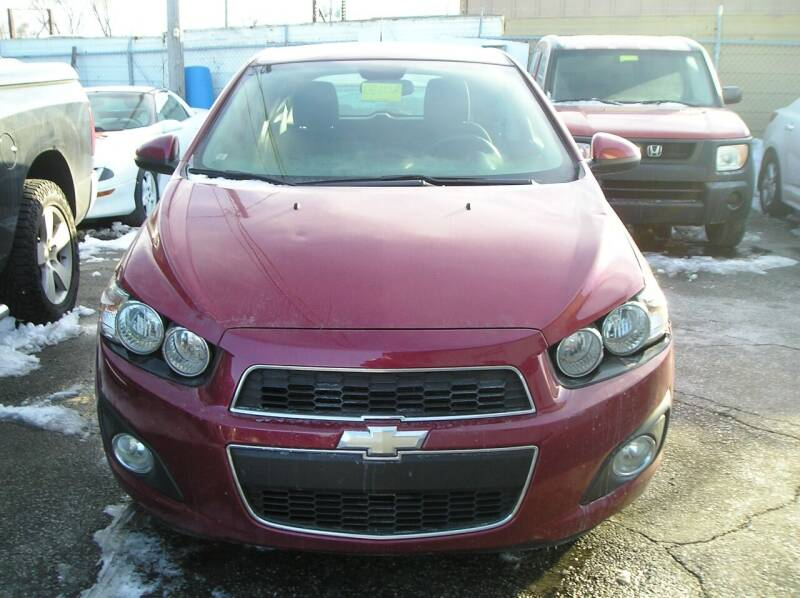 2012 Chevrolet Sonic for sale at ZJ's Custom Auto Inc. in Roseville MI
