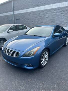 2011 Infiniti G37 Coupe for sale at Weaver Motorsports Inc in Cary NC