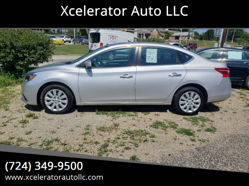 2018 Nissan Sentra for sale at Xcelerator Auto LLC in Indiana PA