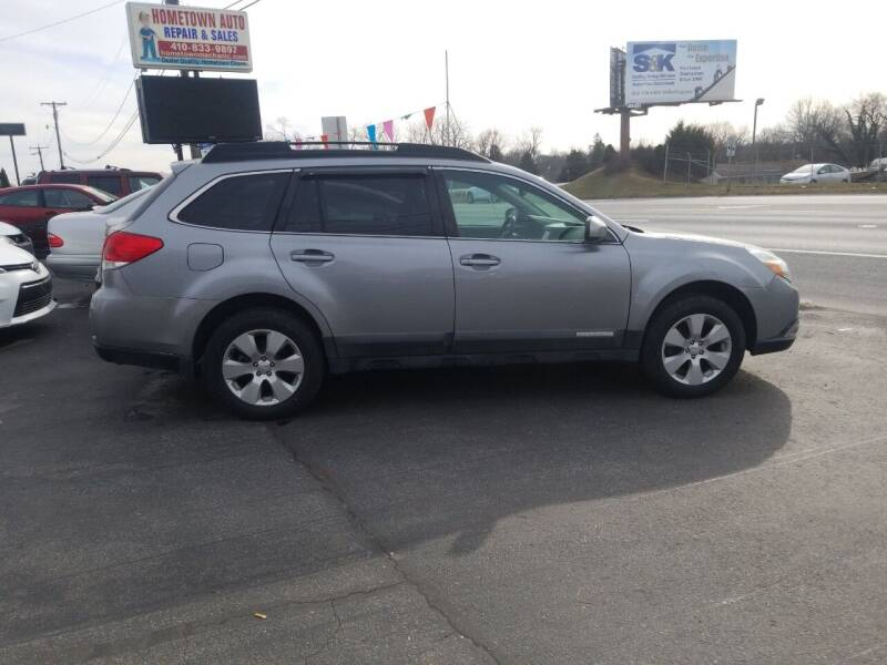 2011 Subaru Outback for sale at Hometown Auto Repair and Sales in Finksburg MD