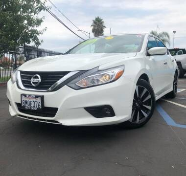 2018 Nissan Altima for sale at LUGO AUTO GROUP in Sacramento CA