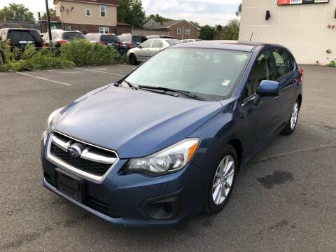 2013 Subaru Impreza for sale at MAGIC AUTO SALES in Little Ferry NJ