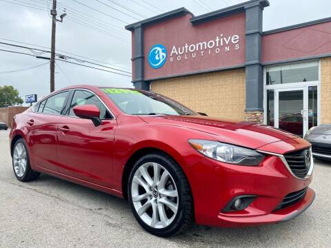 2014 Mazda MAZDA6 for sale at Automotive Solutions in Louisville KY