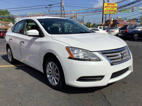 2015 Nissan Sentra for sale at Active Auto Sales in Hatboro PA