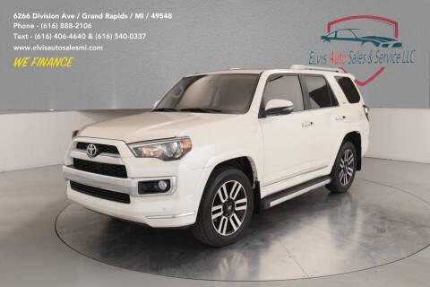 2015 Toyota 4Runner for sale at Elvis Auto Sales LLC in Grand Rapids MI