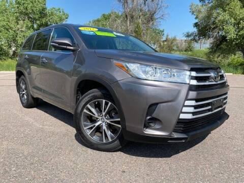 2017 Toyota Highlander for sale at UNITED Automotive in Denver CO
