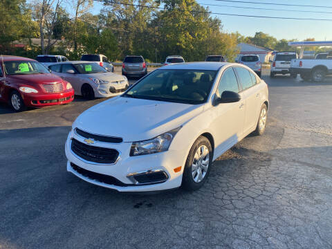 2015 Chevrolet Cruze for sale at Best Buy Auto Sales in Midland OH
