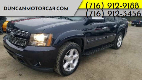 2008 Chevrolet Avalanche for sale at DuncanMotorcar.com in Buffalo NY