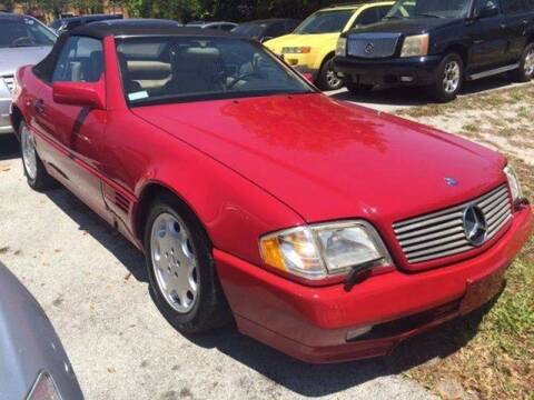 1995 Mercedes-Benz SL-Class for sale at LAND & SEA BROKERS INC in Deerfield FL