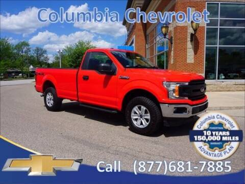 2019 Ford F-150 for sale at COLUMBIA CHEVROLET in Cincinnati OH