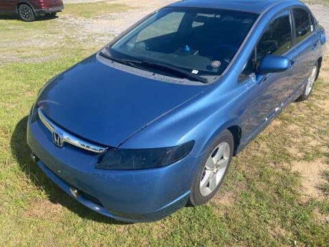 2007 Honda Civic for sale at Nash's Auto Sales Used Car Dealer in Milton FL