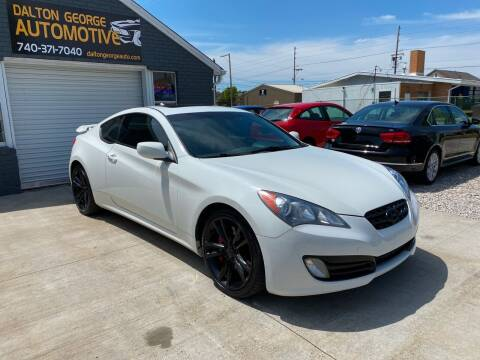 2010 Hyundai Genesis Coupe for sale at Dalton George Automotive in Marietta OH