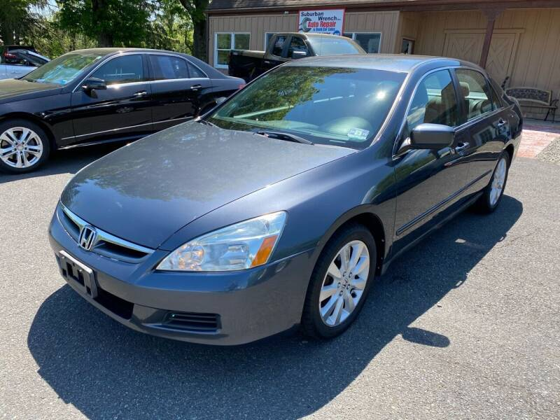 2007 Honda Accord for sale at Suburban Wrench in Pennington NJ