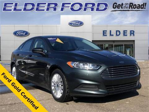 2015 Ford Fusion Hybrid for sale at Mr Intellectual Cars in Troy MI