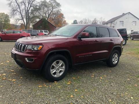 2017 Jeep Grand Cherokee for sale at Brush & Palette Auto in Candor NY