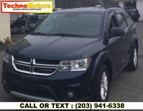 2014 Dodge Journey for sale at Techno Motors in Danbury CT