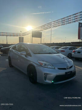 2015 Toyota Prius for sale at Car Solutions Inc. in San Antonio TX