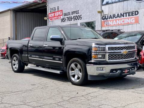 2014 Chevrolet Silverado 1500 for sale at Auto Source in Banning CA