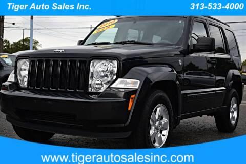 2010 Jeep Liberty for sale at TIGER AUTO SALES INC in Redford MI