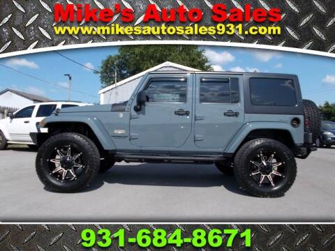 2014 Jeep Wrangler Unlimited for sale at Mike's Auto Sales in Shelbyville TN