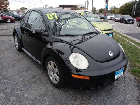 2007 Volkswagen New Beetle for sale at Arak Auto Group in Bourbonnais IL