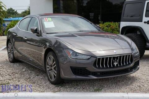 2018 Maserati Ghibli for sale at Michael's Auto Sales Corp in Hollywood FL