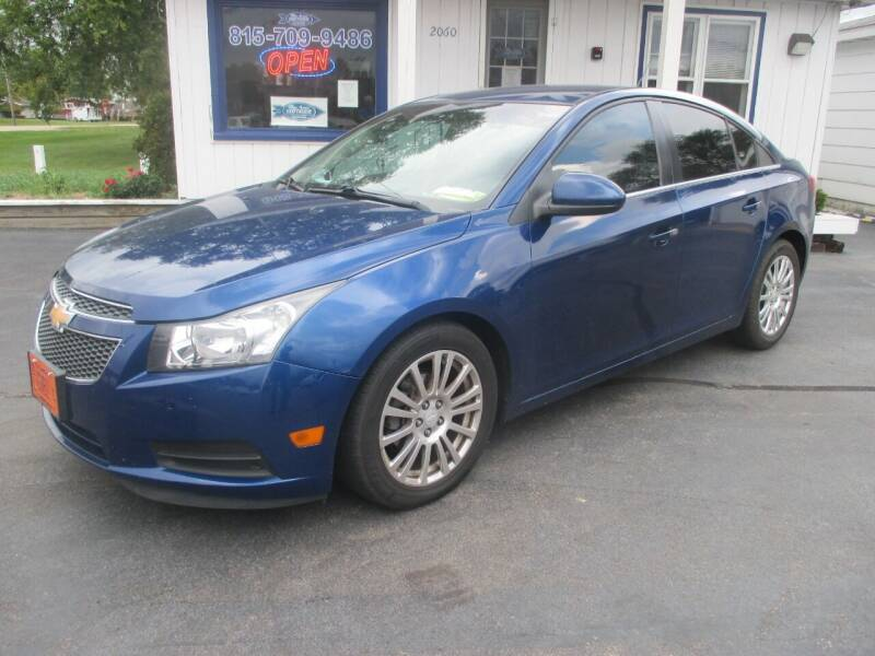 2013 Chevrolet Cruze for sale at Blue Arrow Motors in Coal City IL