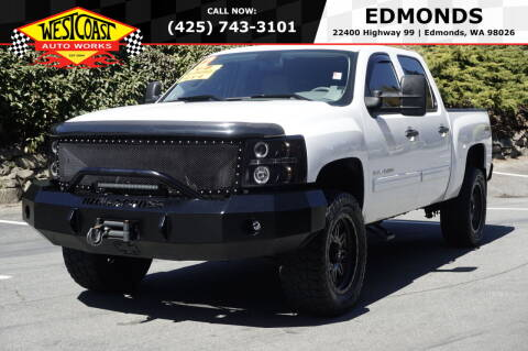 2012 Chevrolet Silverado 1500 for sale at West Coast Auto Works in Edmonds WA