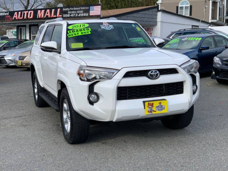 2018 Toyota 4Runner for sale at Milford Auto Mall in Milford MA