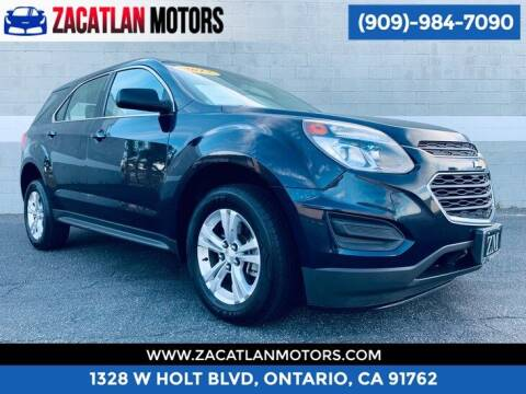 2017 Chevrolet Equinox for sale at Ontario Auto Square in Ontario CA