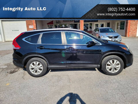 2014 Honda CR-V for sale at Integrity Auto 2.0 in Saint Albans VT