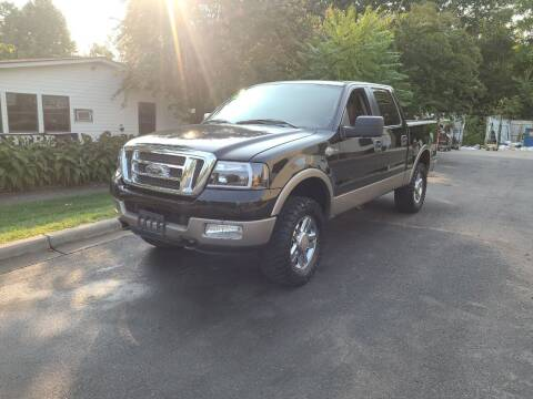 2005 Ford F-150 for sale at TR MOTORS in Gastonia NC