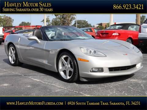 2005 Chevrolet Corvette for sale at Hawley Motor Sales in Sarasota FL
