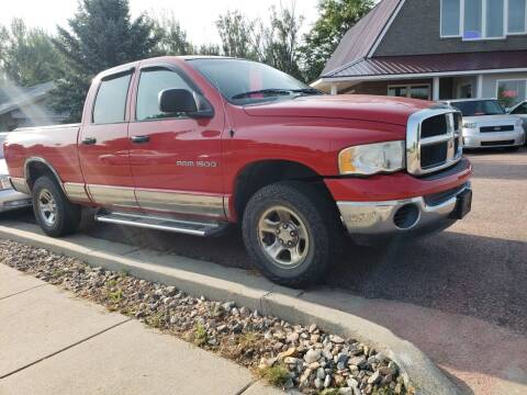 2003 Dodge Ram Pickup 1500 for sale at Geareys Auto Sales of Sioux Falls, LLC in Sioux Falls SD