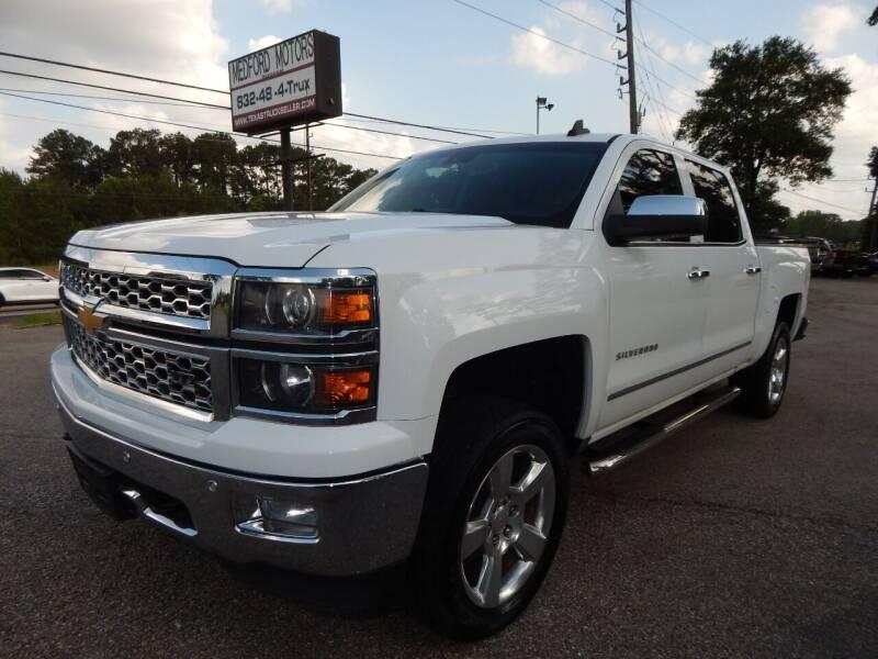 2015 Chevrolet Silverado 1500 for sale at Medford Motors Inc. in Magnolia TX