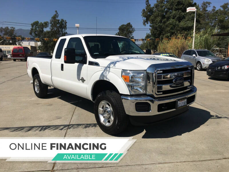 2016 Ford F-250 Super Duty for sale at CALIFORNIA AUTO FINANCE GROUP in Fontana CA