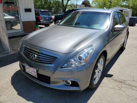 2011 Infiniti G37 Sedan for sale at New Wheels in Glendale Heights IL
