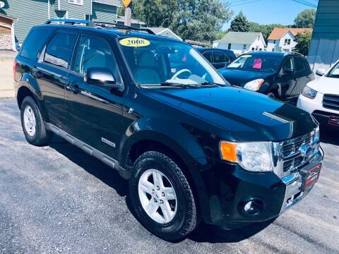 2008 Ford Escape Hybrid for sale at SHEFFIELD MOTORS INC in Kenosha WI