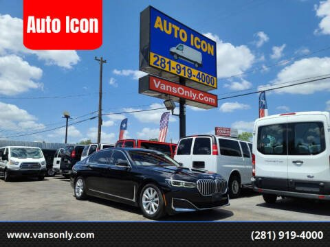 2020 BMW 7 Series for sale at Auto Icon in Houston TX