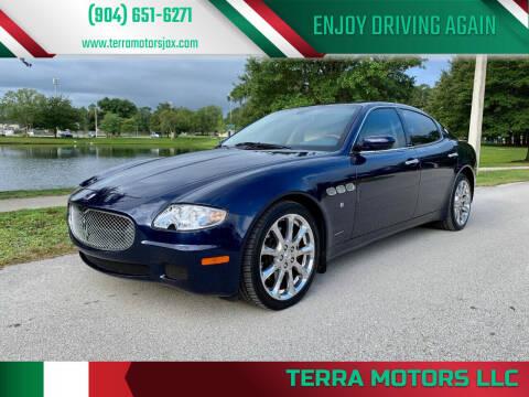2007 Maserati Quattroporte for sale at Terra Motors LLC in Jacksonville FL