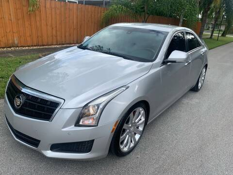 2014 Cadillac ATS for sale at FINANCIAL CLAIMS & SERVICING INC in Hollywood FL