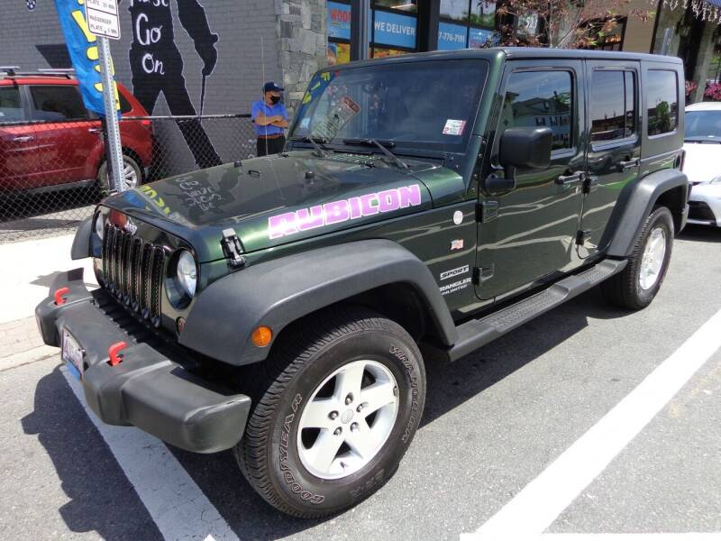 2010 Jeep Wrangler Unlimited for sale at Broadway Auto Sales in Somerville MA